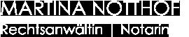 kanzlei notthoff logo weiss