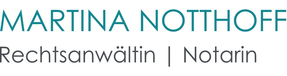 Rechtsanwältin und Notarin Martina Notthoff